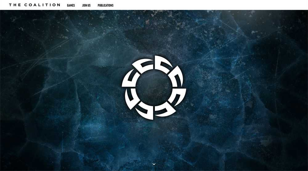 The Coalition Studio Homepage Screenshot